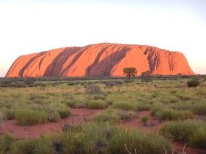 Many colours of Uluru