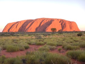 Many colours of Uluru
