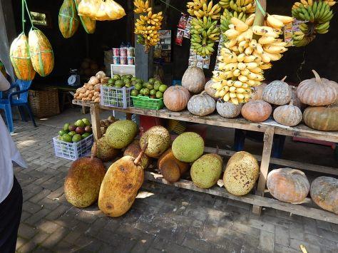 Jack fruit stall