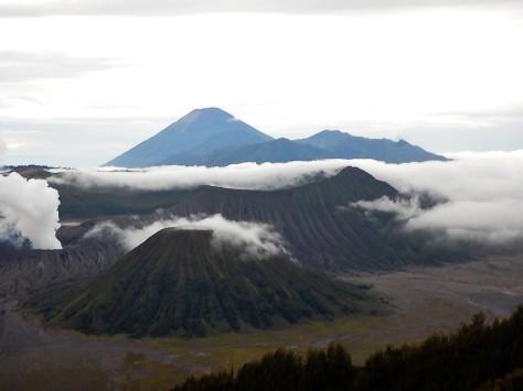 The three volcanoes!
