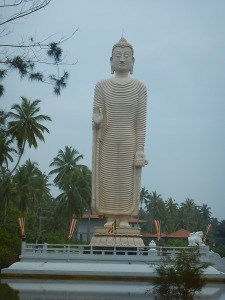 Buddha along the coast road